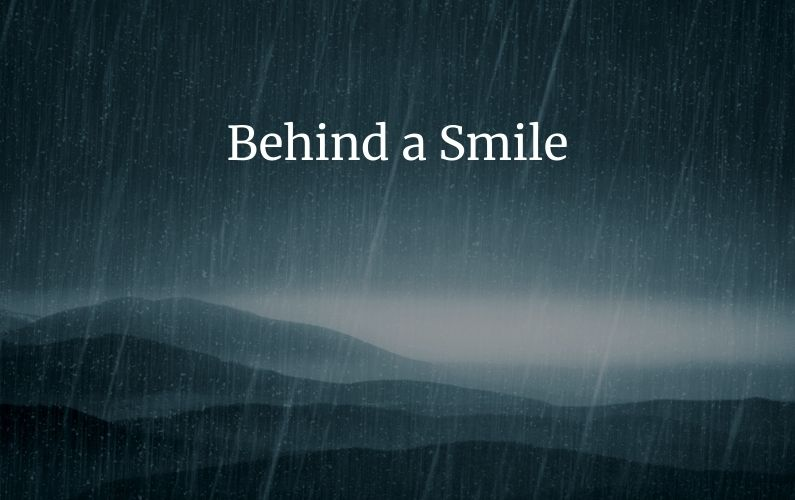 picture for behind a smile